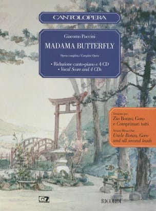 Giacomo Puccini - Madame Butterfly - Seconds Roles Cd - Sheet Music - di-arezzo.com