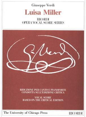 VERDI - Luisa Miller. Critical Edition - Sheet Music - di-arezzo.com