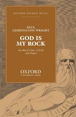 God Is My Rock - Wright - Partition - Chœur - laflutedepan.com