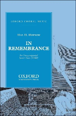 Hopson - In Remembrance (Vx Hommes) - Partition - di-arezzo.fr