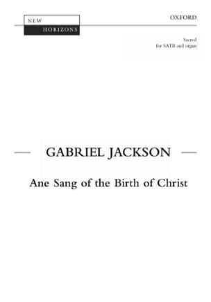 Jackson - Ane Sang Af The Birth Of Christ - Partition - di-arezzo.fr