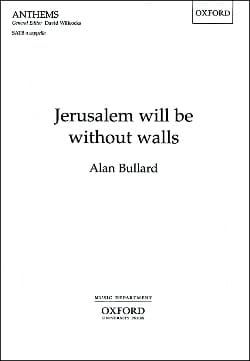 Bullard - Jerusalem Will Be Without Walls - Partition - di-arezzo.fr
