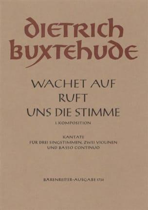 Dietrich Buxtehude - Wachet Auf Ruft Uns Die Stimme - Partition - di-arezzo.fr