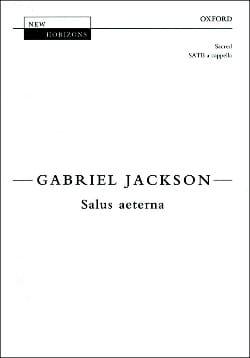 Salus Aeterna Gabriel Jackson Partition Chœur - laflutedepan