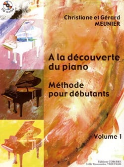 Christiane et Gérard Meunier - At The Discovery Of The Piano Volume 1 - Sheet Music - di-arezzo.co.uk