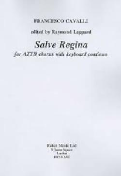 Salve Regina Francesco Cavalli Partition Chœur - laflutedepan