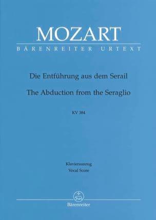 MOZART - Die Entführung Aus Dem Serail. Nouvelle Edition. K 384 - Partition - di-arezzo.fr