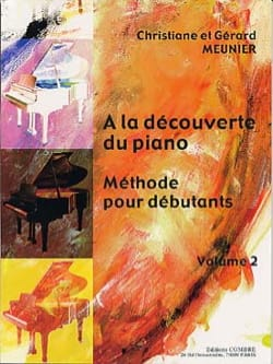 Gérard Meunier - At the discovery of the Piano Volume 2 - Sheet Music - di-arezzo.co.uk
