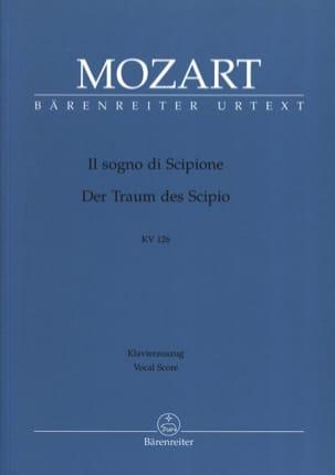 MOZART - He Sogno Di Scipione K 126 - Sheet Music - di-arezzo.co.uk