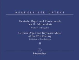 - Deutsche Orgel-Und Claviermusik des 17. Jahrhunderts - Partition - di-arezzo.fr
