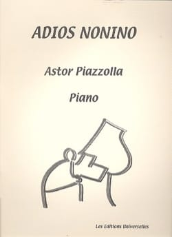 Astor Piazzolla - Adios Nonino. Concert Version - Sheet Music - di-arezzo.co.uk