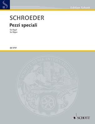 Hermann Schroeder - Pezzi Speciali - Partition - di-arezzo.fr