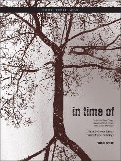 In Time Of. Choeur Seul - Sametz - Partition - laflutedepan.com