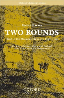 2 Rounds - Ernst Bacon - Partition - laflutedepan.com