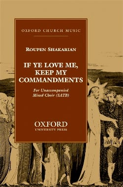 Shakarian - If Ye Love Me, Keep My Commandments - Partition - di-arezzo.fr