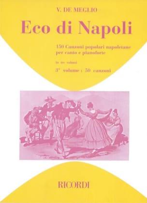 - Eco Di Napoli. Volume 3 - Partition - di-arezzo.fr