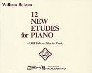12 New Etudes For Piano William Bolcom Partition Piano - laflutedepan