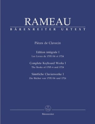 Jean-Philippe Rameau - Harpsichord Parts Volume 1 - Partitura - di-arezzo.it