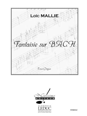 Loïc Mallié - Fantasía en BACH - Partitura - di-arezzo.es