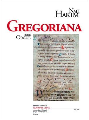 Naji Hakim - Gregoriana - Partition - di-arezzo.fr