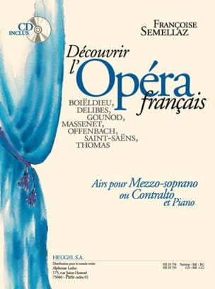 Françoise Semellaz - Discover the French Opera. Mezzo or Contralto - Sheet Music - di-arezzo.co.uk