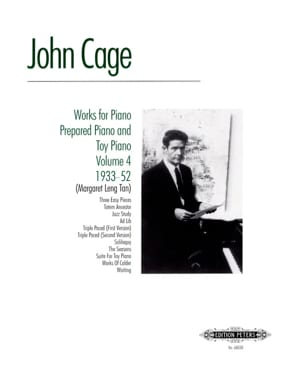 John Cage - Works For Piano Prepared And Toy Piano Volume 4 - Partition - di-arezzo.fr