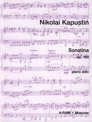 Nikolai Kapustin - Sonatina Opus 100 - Partition - di-arezzo.fr