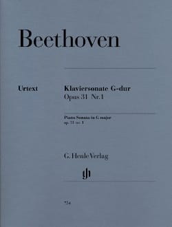 Ludwig van Beethoven - Sonata For Piano N ° 16 In G Major Opus 31 N ° 1 - Sheet Music - di-arezzo.co.uk