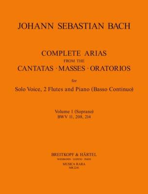 Complete Arias For Soprano, 2 Flûtes et B.C. Volume 1 laflutedepan
