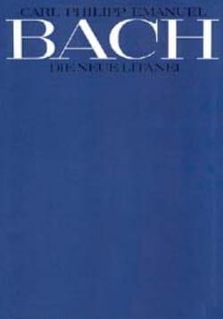 Carl-Philipp Emanuel Bach - Die Neue Litanei Wq 204-2 - Partition - di-arezzo.fr