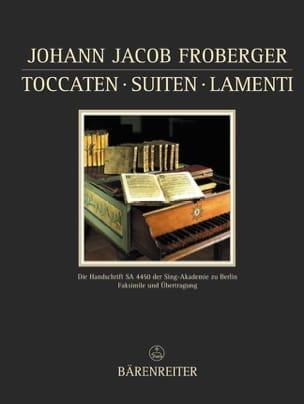Johann Jakob Froberger - Manuscrits de Kiev. - Partition - di-arezzo.fr
