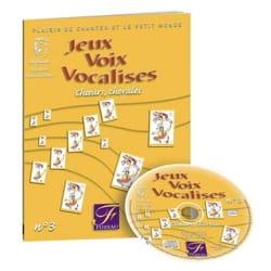 Jeux, Voix, Vocalises Volume 3 Genetay Livre laflutedepan