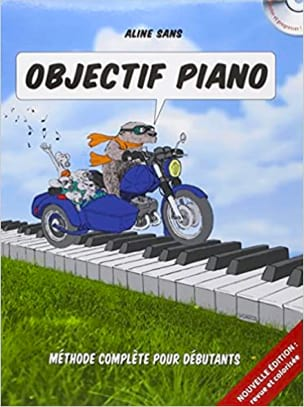 Aline SANS - Objectif Piano - Sheet Music - di-arezzo.co.uk