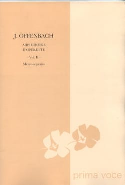 Jacques Offenbach - 10 Selected Airs Of Operetta. mezzo - Sheet Music - di-arezzo.co.uk