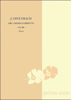Jacques Offenbach - Selected operetta tunes. Tenor - Sheet Music - di-arezzo.com