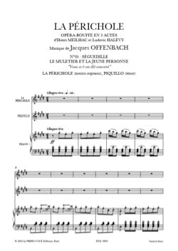 Jacques Offenbach - You've been told often. the Périchole - Sheet Music - di-arezzo.com