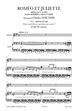 Charles Gounod - God ! What a thrill in my veins. Romeo and Juliet - Sheet Music - di-arezzo.co.uk