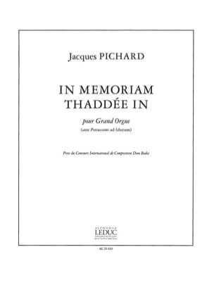 In Memoriam Thaddée In - Jacques Pichard - laflutedepan.com