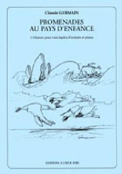 Claude Germain - Promenades Au Pays D'enfance - Partition - di-arezzo.fr