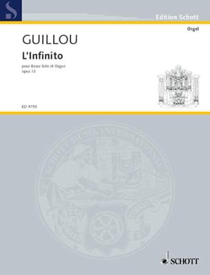 L' Infinito Op. 13 - Jean Guillou - Partition - laflutedepan.com