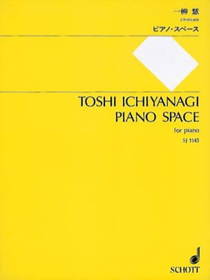 Toshi Ichiyanagi - Piano Space - Partition - di-arezzo.fr