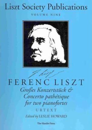 Grosses Konzertstück et Concerto Pathétique. 2 Pianos - laflutedepan.com