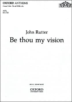 Be Thou My Vision RUTTER Partition Chœur - laflutedepan
