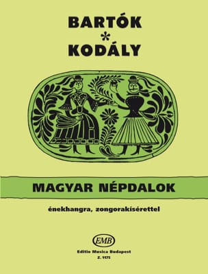 Bartok Bela / Kodaly Zoltan - Magyar Neptalok - Partition - di-arezzo.fr