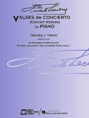 Valses de Concierto - Ernesto Lecuona - Partition - laflutedepan.com