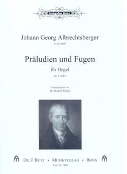Präludien Und Fugen Op. 5 et 6 - laflutedepan.com