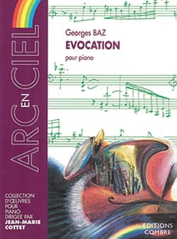 Evocation - Georges Baz - Partition - Piano - laflutedepan.com