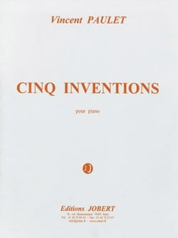 Vincent Paulet - 5 Inventions - Sheet Music - di-arezzo.com