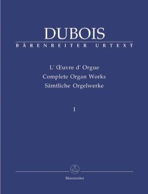 Oeuvre D'orgue. Volume 1 Théodore Dubois Partition laflutedepan
