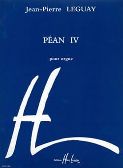 Péan 4 - Jean-Pierre Leguay - Partition - Orgue - laflutedepan.com